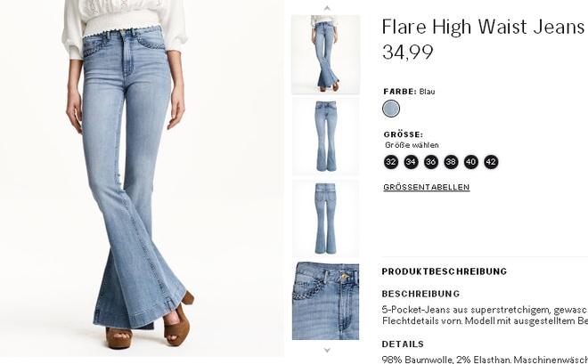 3 mau quan jeans tien trieu cua sao Viet duoc san lung hinh anh 6