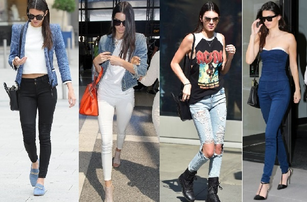 Hoc cach mix do ca tinh voi quan jeans cua Kendall Jenner hinh anh
