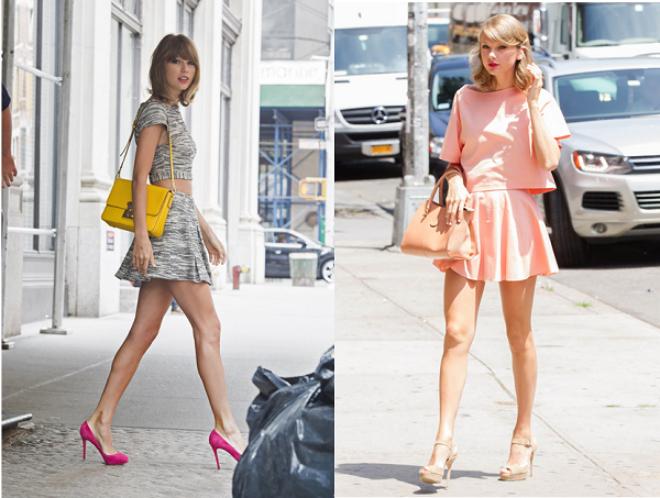 8 phong cach phoi do thuong ngay cua Taylor Swift hinh anh 3