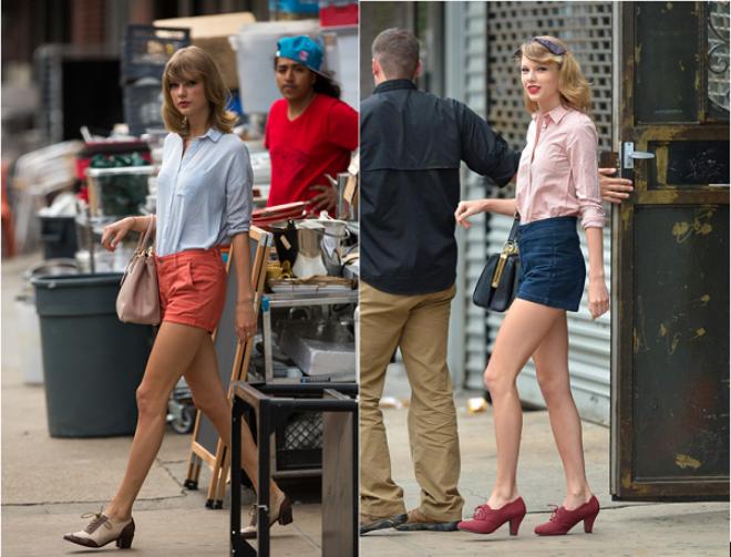 8 phong cach phoi do thuong ngay cua Taylor Swift hinh anh 4
