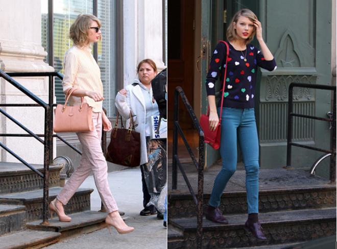 8 phong cach phoi do thuong ngay cua Taylor Swift hinh anh 5