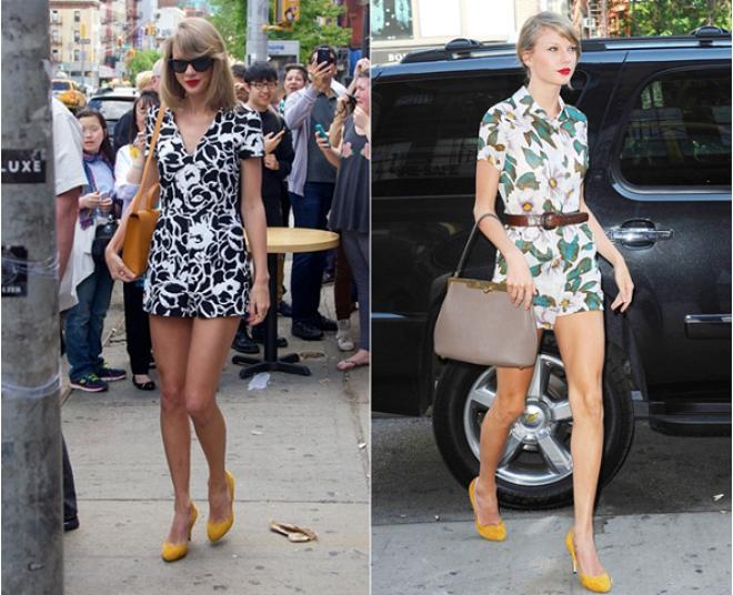 8 phong cach phoi do thuong ngay cua Taylor Swift hinh anh 8