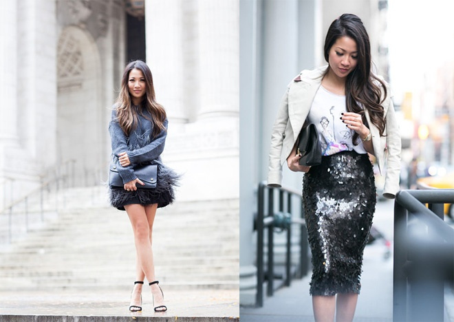 Thoi trang dao pho sanh dieu cua hot blogger goc Viet hinh anh 17
