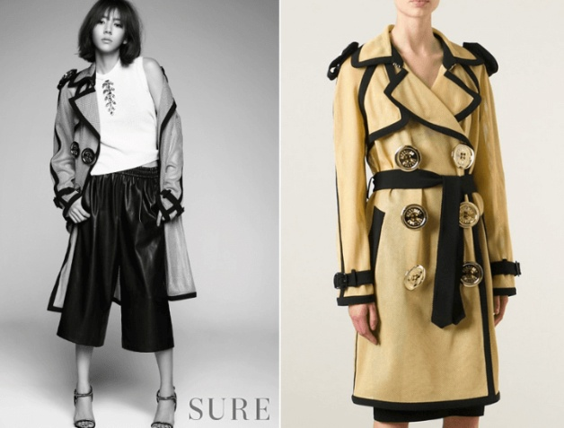 Uee Burberry Animal Print Rabbit Fur And Shearling Coat ($10,000.