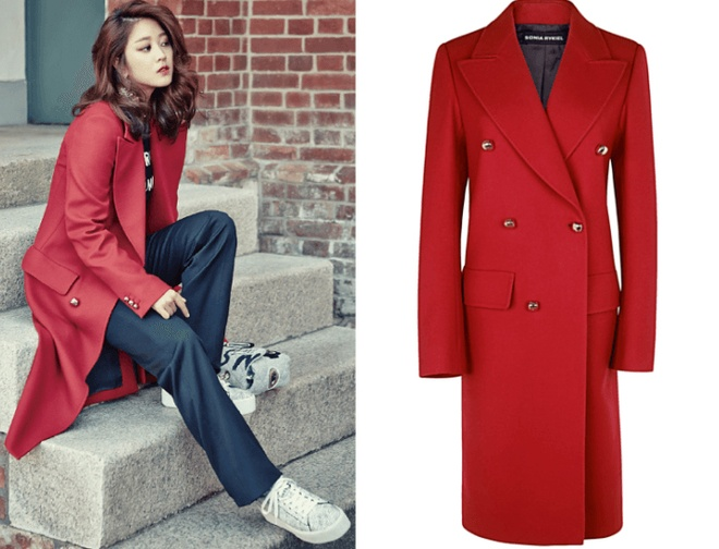 Son Dam Bi Moschino Double Breasted Coat ($2,657