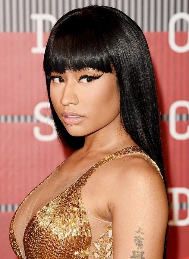 14 guong mat trang diem duoc ca ngoi dep nhat 2015 hinh anh 6 Nicki Minaj