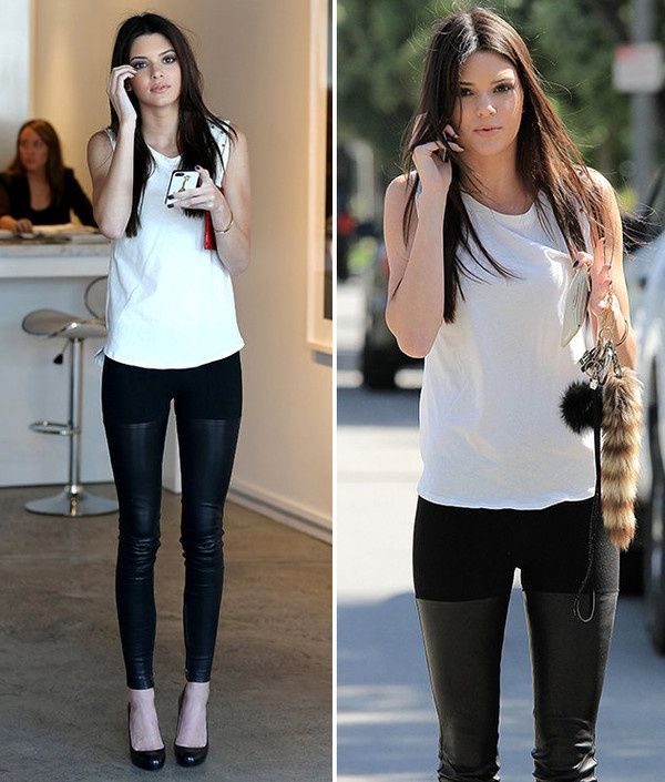 Mac legging sanh dieu nhu Kendall Jenner hinh anh 14