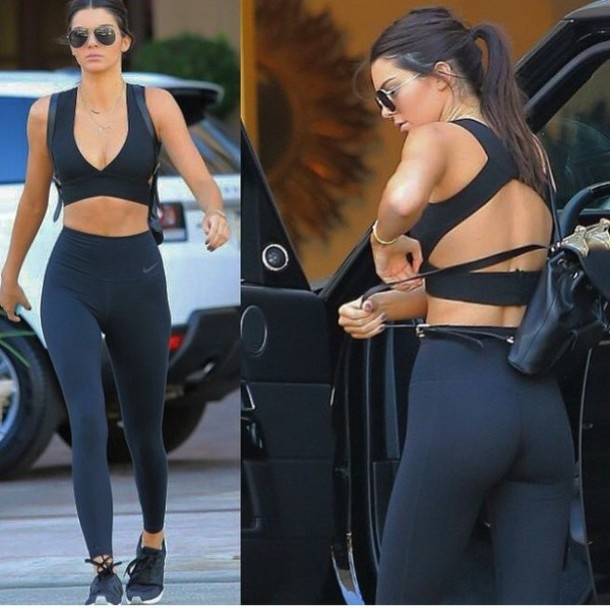 Mac legging sanh dieu nhu Kendall Jenner hinh anh 5