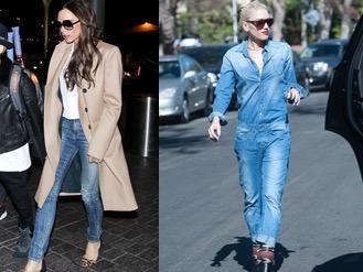 Sao Hollywood dang thich mot quan jeans nao? hinh anh