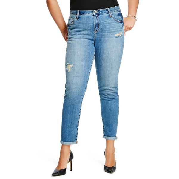 6 kieu quan jeans chuan cho nang dui to hinh anh 7
