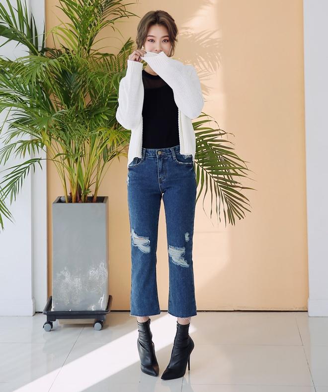 Xu huong quan jeans xe gau anh 17