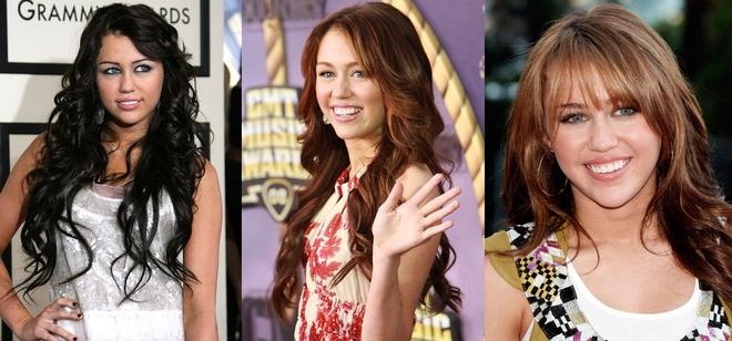 Nhung kieu toc cua Miley Cyrus theo thoi gian hinh anh 3