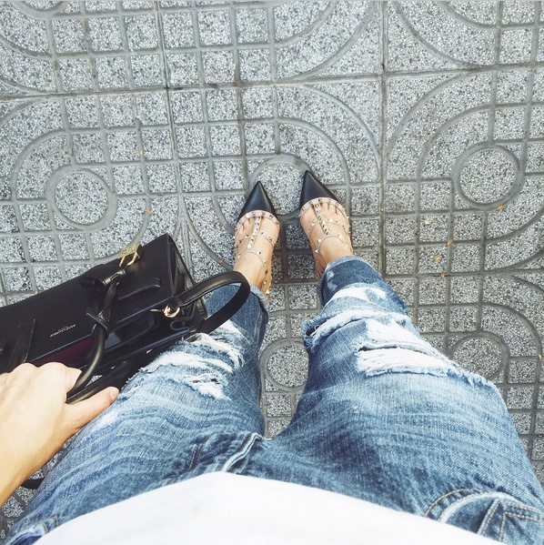 Ha Tang goi y cac mau jeans an gian tuoi don he hinh anh 4