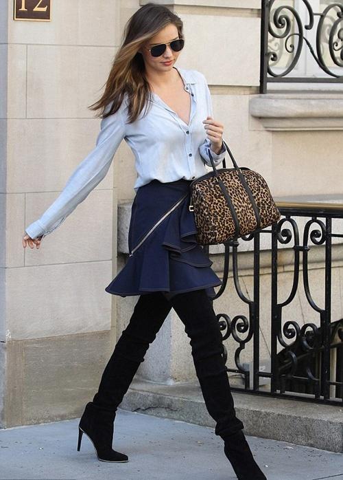 Street style yeu thich cua Miranda Kerr hinh anh 10