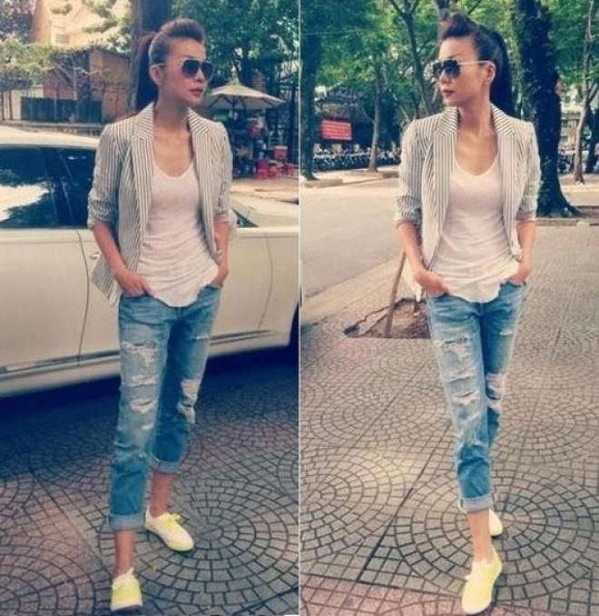 Thanh Hang mix sneaker kheo leo the nao? hinh anh 10
