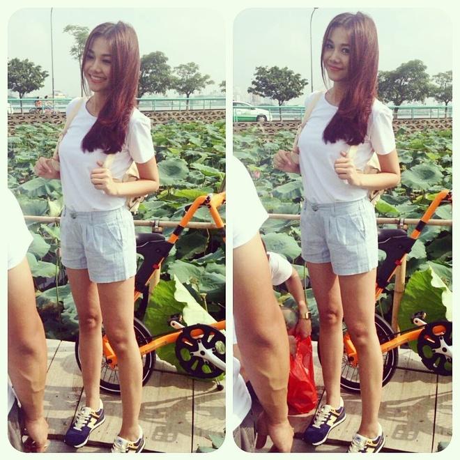 Thanh Hang mix sneaker kheo leo the nao? hinh anh 8