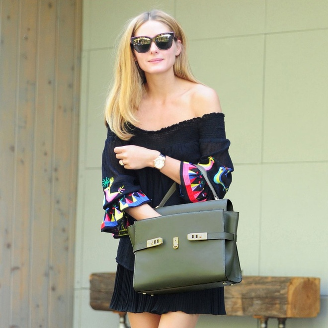 Olivia Palermo goi y mix xu huong hot nhat he hinh anh 10