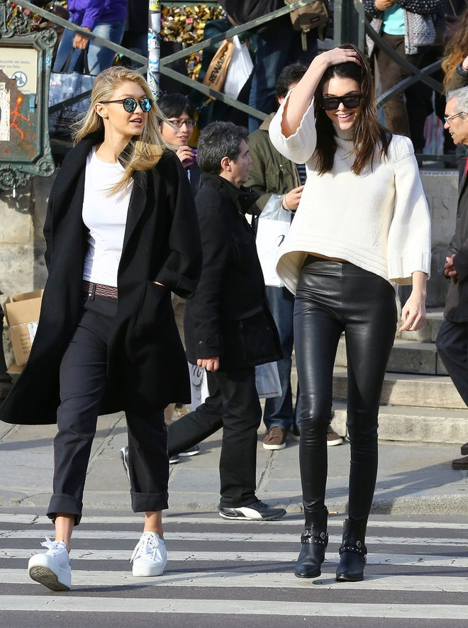 Thoi trang tuong dong cua Gigi Hadid va Kendall Jenner hinh anh 13