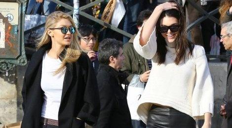 Thoi trang tuong dong cua Gigi Hadid va Kendall Jenner hinh anh