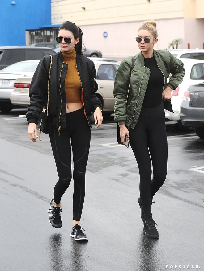 Thoi trang tuong dong cua Gigi Hadid va Kendall Jenner hinh anh 6