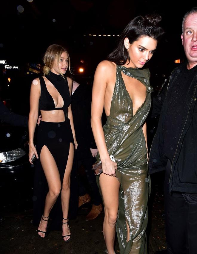 Thoi trang tuong dong cua Gigi Hadid va Kendall Jenner hinh anh 8