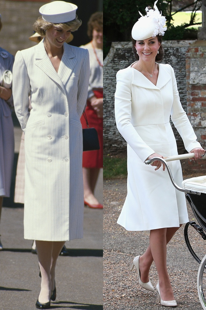 Hinh anh giong nhau cua cong nuong Diana va Kate Middleton hinh anh 1