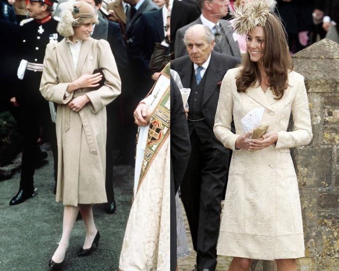 Hinh anh giong nhau cua cong nuong Diana va Kate Middleton hinh anh 10