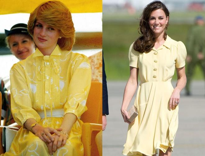 Hinh anh giong nhau cua cong nuong Diana va Kate Middleton hinh anh 11