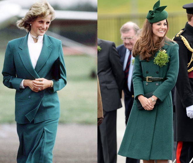Hinh anh giong nhau cua cong nuong Diana va Kate Middleton hinh anh 13