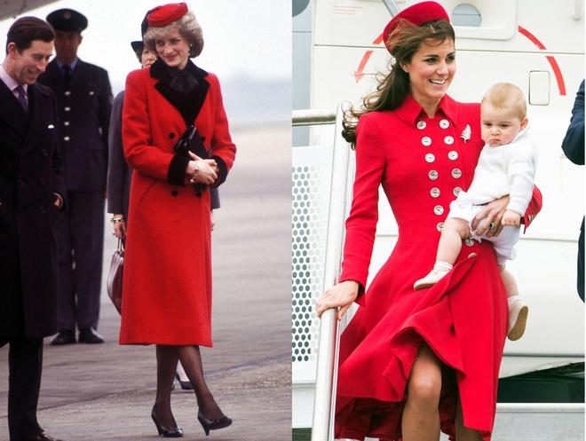 Hinh anh giong nhau cua cong nuong Diana va Kate Middleton hinh anh 14