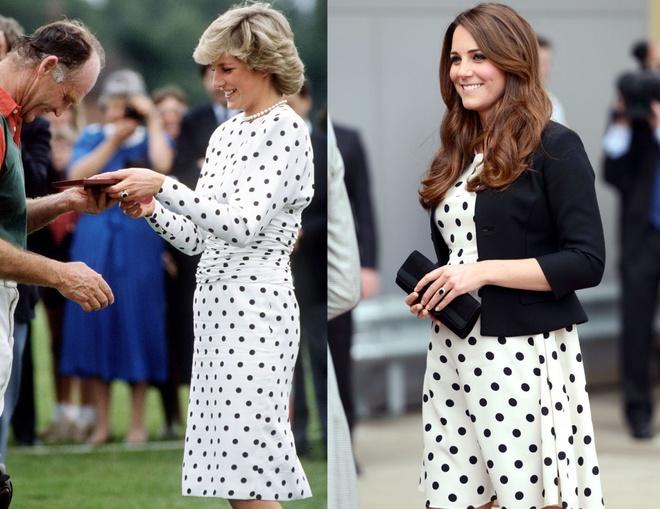 Hinh anh giong nhau cua cong nuong Diana va Kate Middleton hinh anh 15