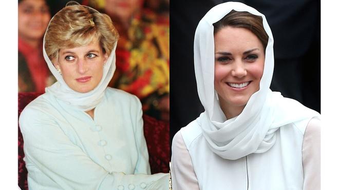Hinh anh giong nhau cua cong nuong Diana va Kate Middleton hinh anh 17