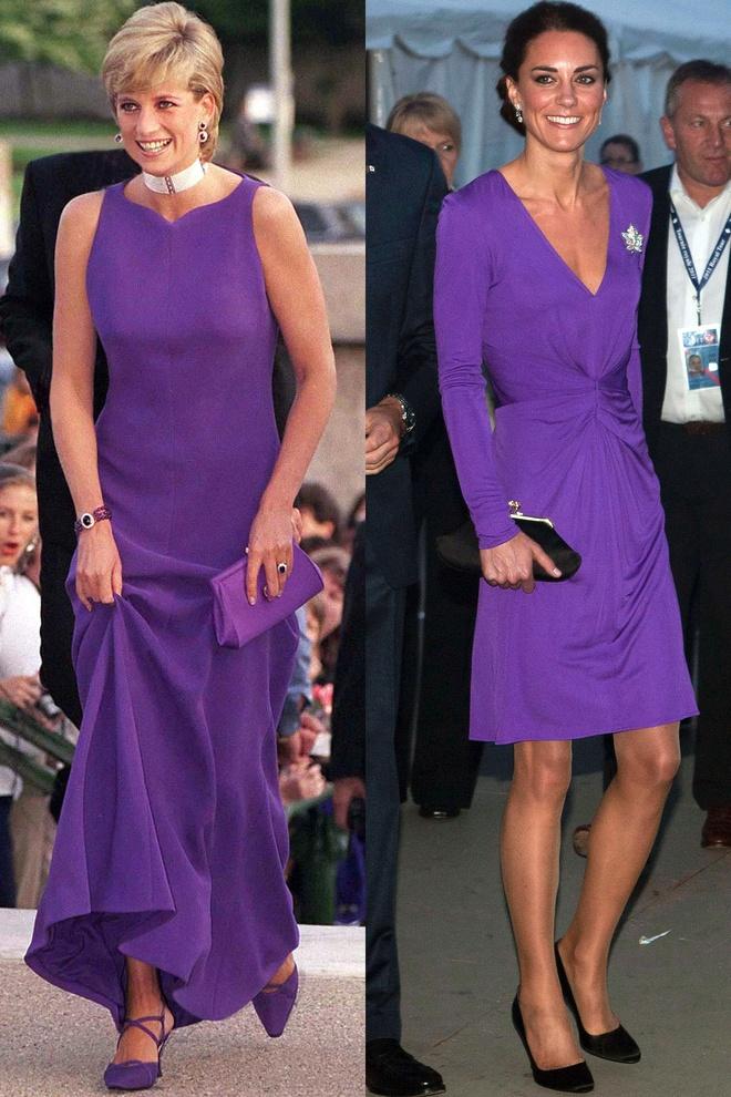 Hinh anh giong nhau cua cong nuong Diana va Kate Middleton hinh anh 2
