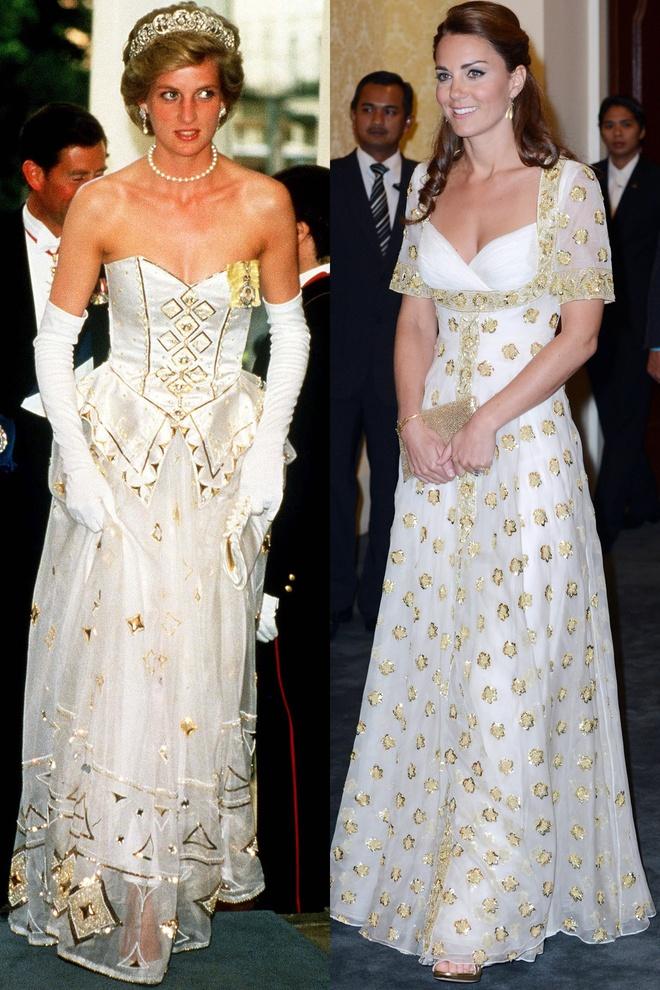 Hinh anh giong nhau cua cong nuong Diana va Kate Middleton hinh anh 19