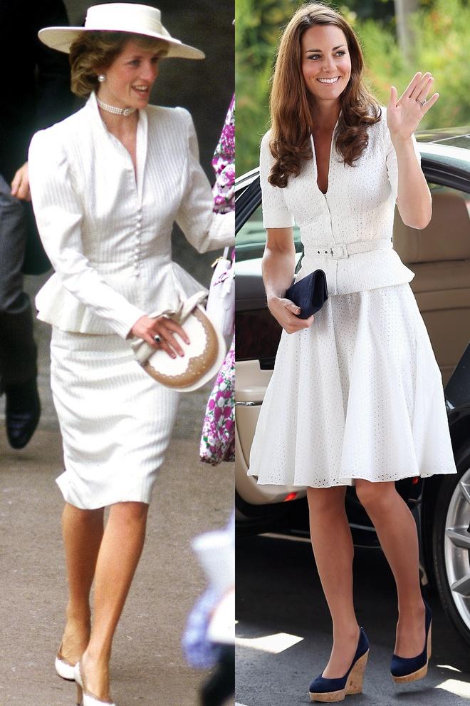 Hinh anh giong nhau cua cong nuong Diana va Kate Middleton hinh anh 20