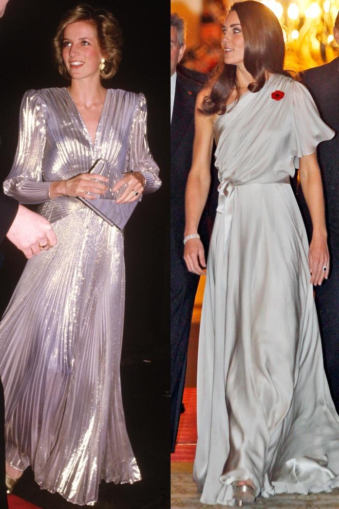 Hinh anh giong nhau cua cong nuong Diana va Kate Middleton hinh anh 3