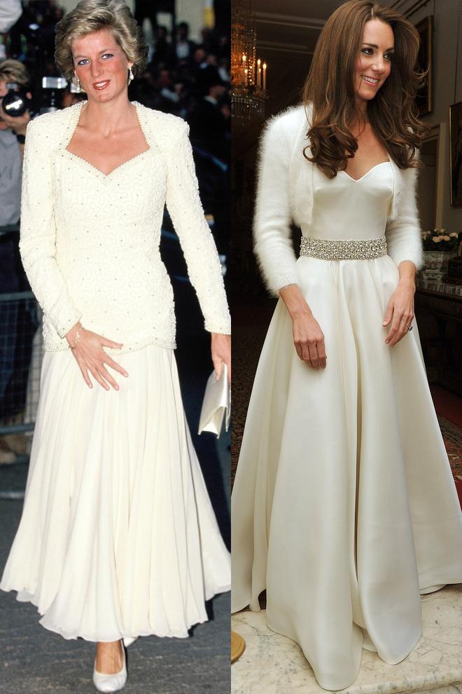 Hinh anh giong nhau cua cong nuong Diana va Kate Middleton hinh anh 4