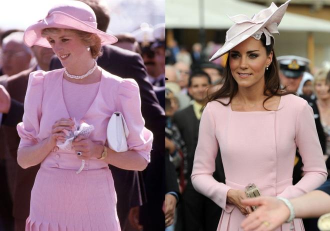 Hinh anh giong nhau cua cong nuong Diana va Kate Middleton hinh anh 5