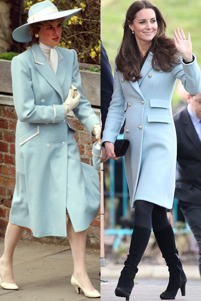 Hinh anh giong nhau cua cong nuong Diana va Kate Middleton hinh anh 7