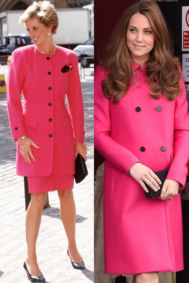 Hinh anh giong nhau cua cong nuong Diana va Kate Middleton hinh anh 8