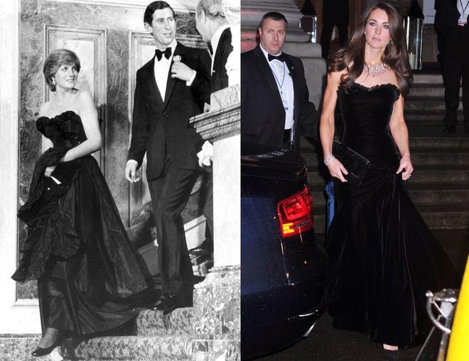 Hinh anh giong nhau cua cong nuong Diana va Kate Middleton hinh anh 9