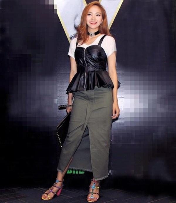 Nhung lan Minh Hang lot top mac xau hinh anh 4