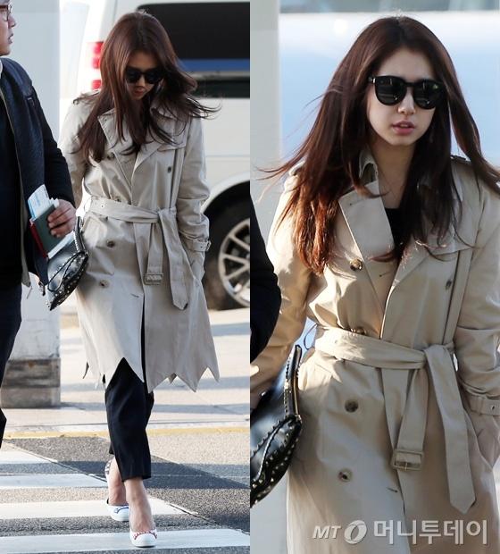 Thoi trang san bay nang dong cua Park Shin Hye hinh anh 10