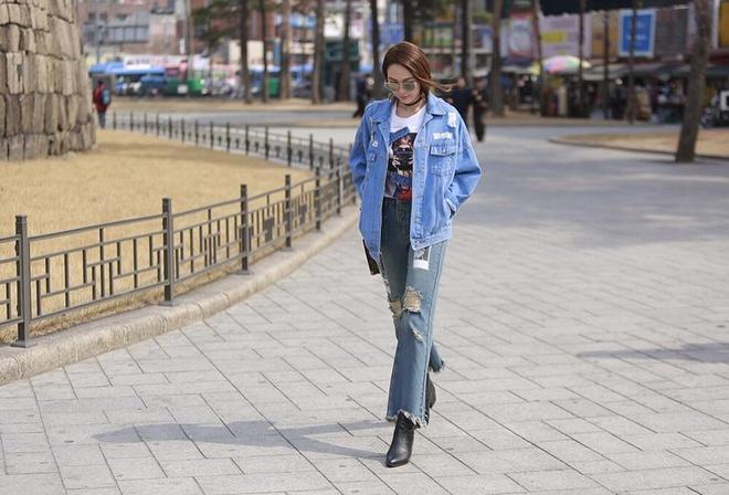 Minh Hang goi y 4 mau quan jeans khong the thieu ngay he hinh anh 7