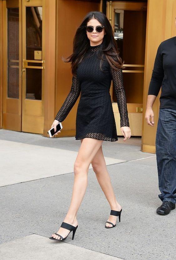 Kieu giay ho got tao phong cach cho Selena Gomez hinh anh 3