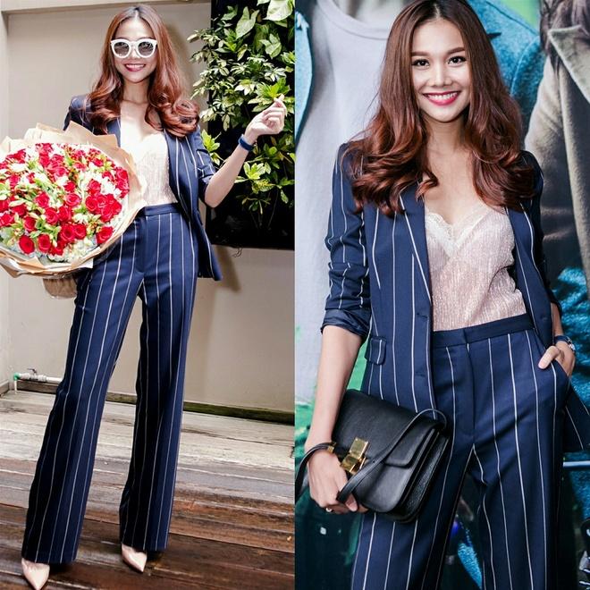 Bo suu tap blazer cua Thanh Hang hinh anh 4