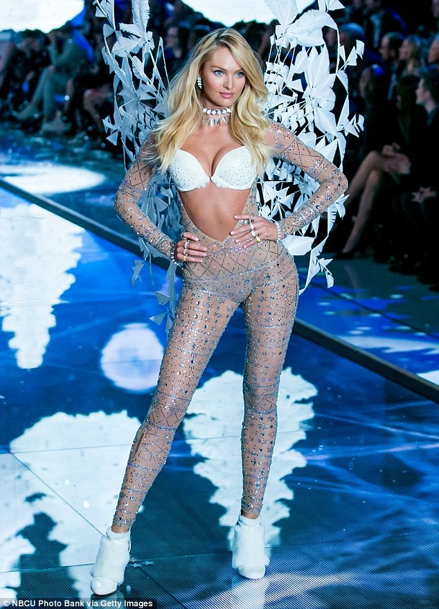 12 thien than vang mat o Victoria's Secret Show 2016 hinh anh 1