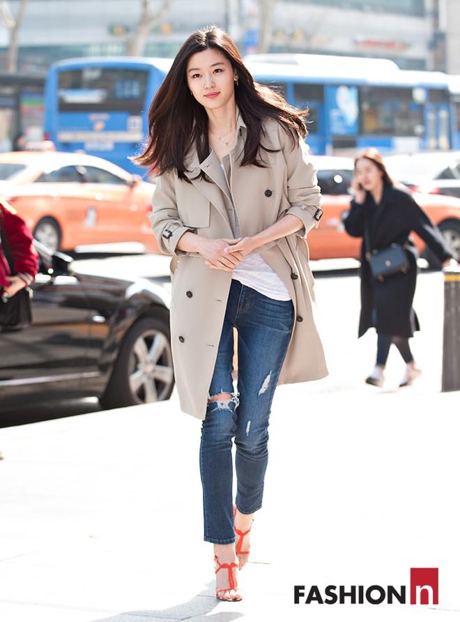 Thoi trang cua Jun Ji Hyun anh 1