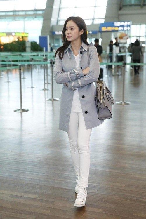 Phong cach thoi trang tre trung cua Kim Tae Hee hinh anh 6