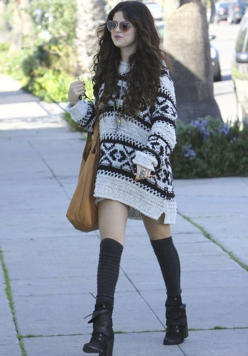 Selena Gomez goi y cach phoi do voi ao len ngay lanh hinh anh 5